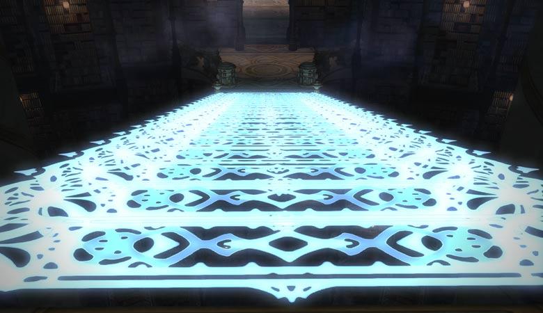 幻想書庫の階段紋章