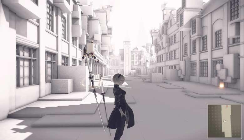 複製された街