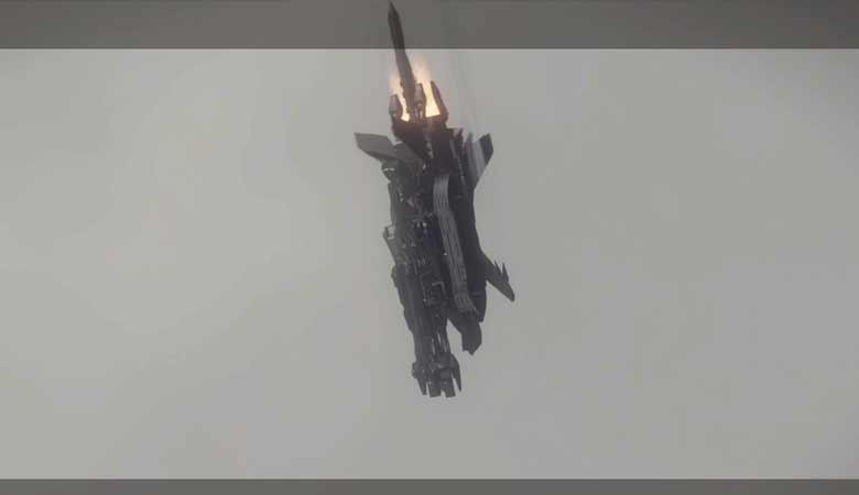 空からの攻撃