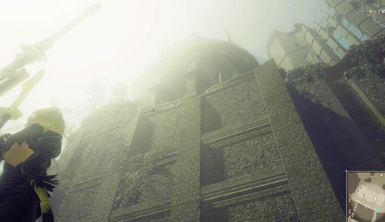 お城に到着