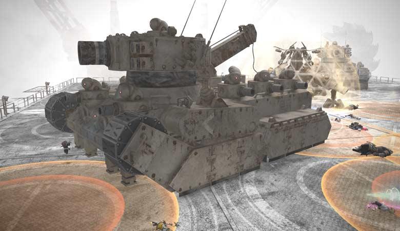 戦車型機械生命体