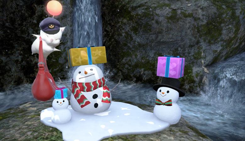 プレゼントを届けるよ!