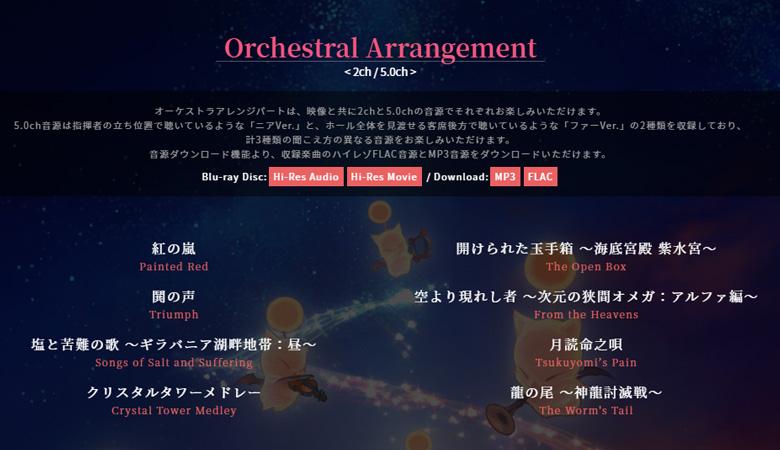 オーケストラアレンジパート
