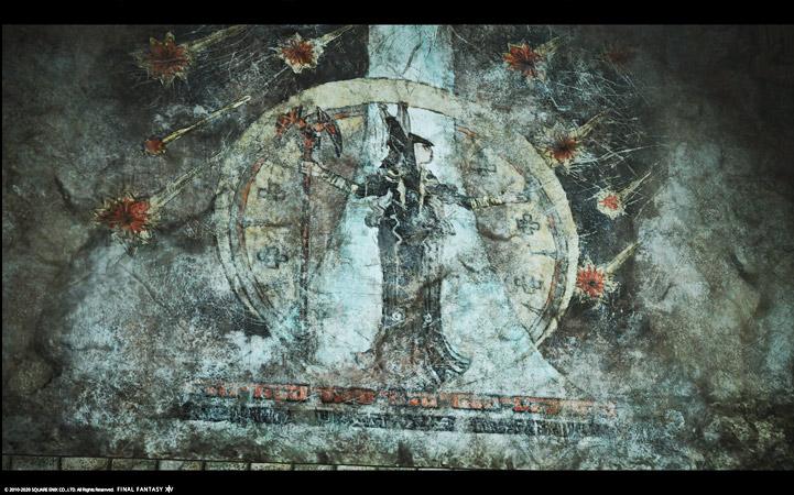 大魔導士チュナの壁画