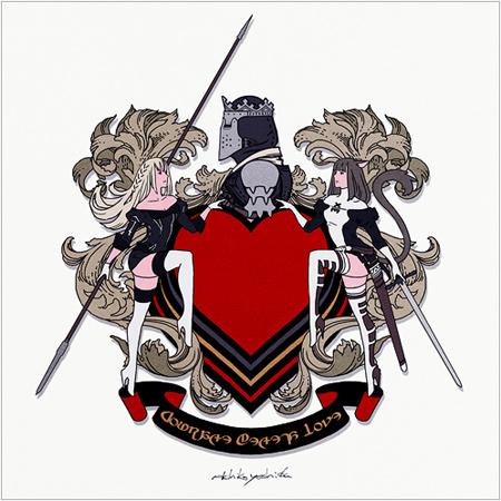 名家ヴァレンティオン家の盾紋