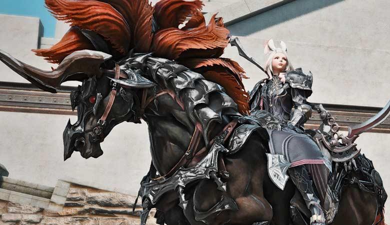 【FF14】我が体を預けるのは、漆黒妖馬スレイプニルのみ!!