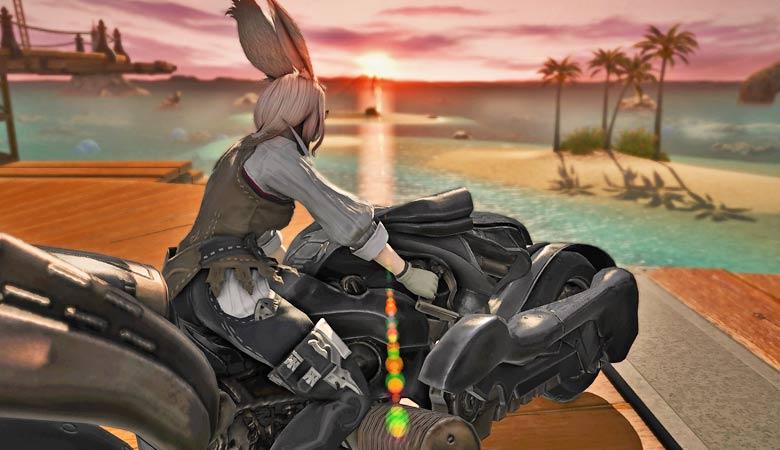 【FF14】乗ればわかる、走ればわかる。そんなバイクが私は好きだ。