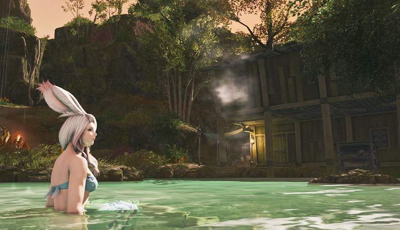 【FF14】秘湯を求めて!『隠者の庵』に行ってみよう!