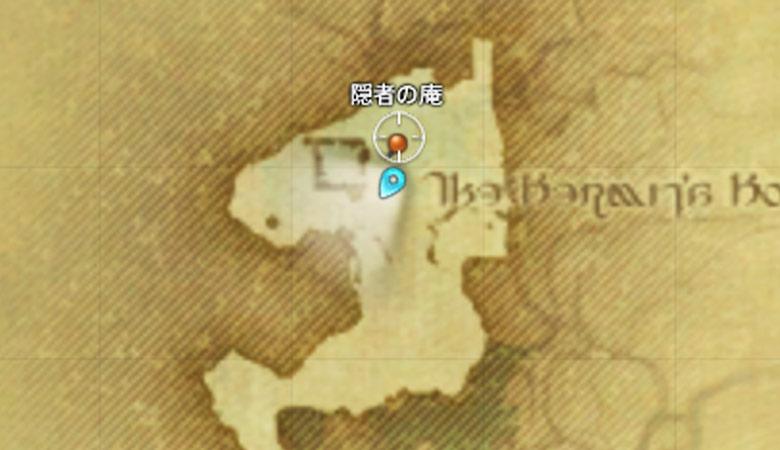 マップ:隠者の庵