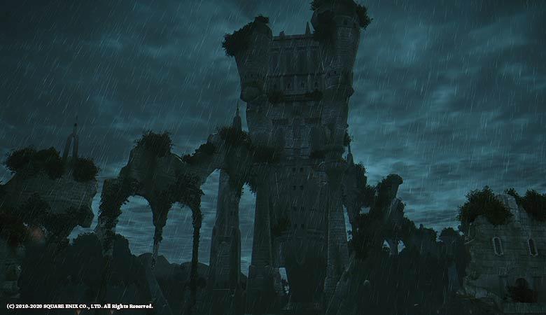 雷雨のワンダラーパレス