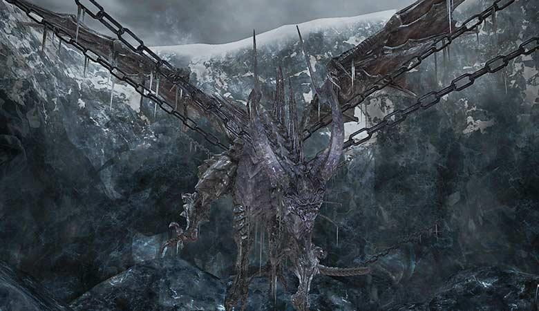 鎖に繋がれたドラゴン