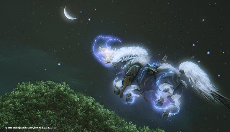 夜空のイクシオン