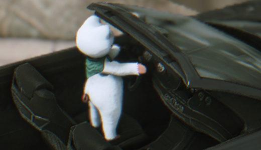 【FF14】これどうやって運転してるの!? ララのレガリアマウントの乗り方が凄い・・・!