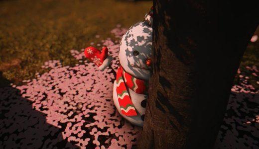 【FF14】恐怖・・・!だんだん近づいてくるスノーマンの噂・・!