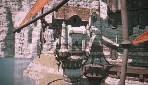 【FF14】なんだろうコルシア島の建物に惹かれてしまう。風車やお家など。