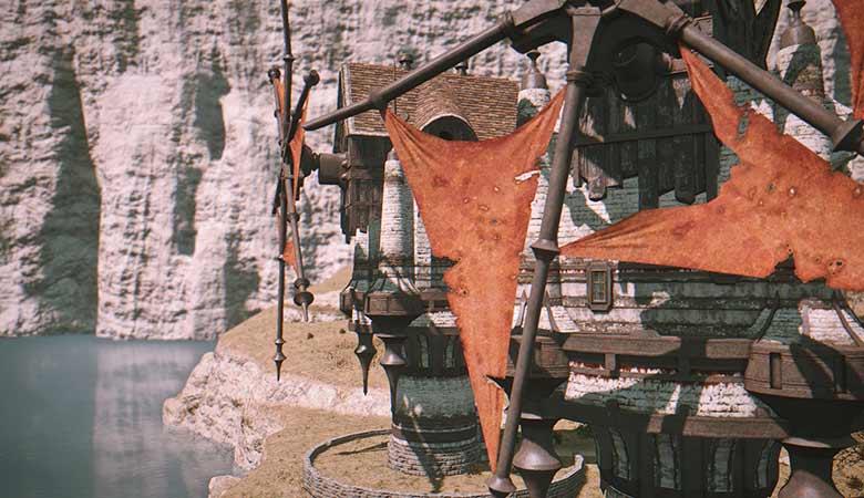 コルシア島の風車