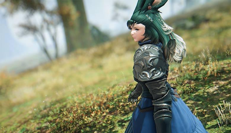 緑髪のヴィエラ