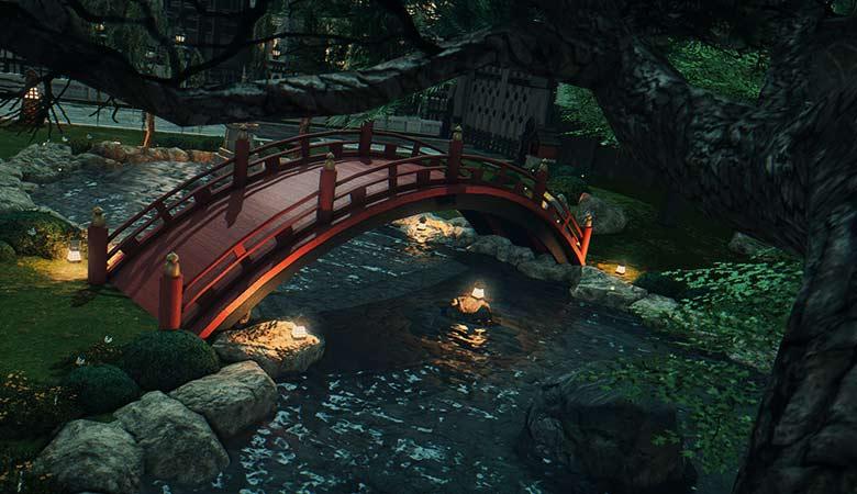 楽水園の橋