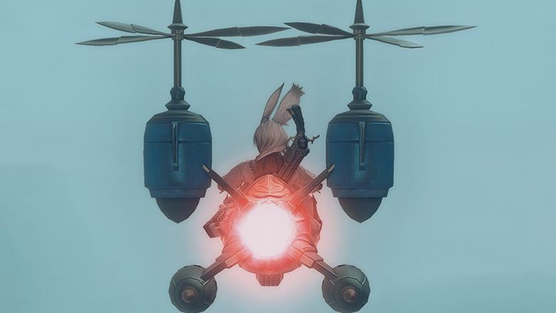 飛行モード:エンジン