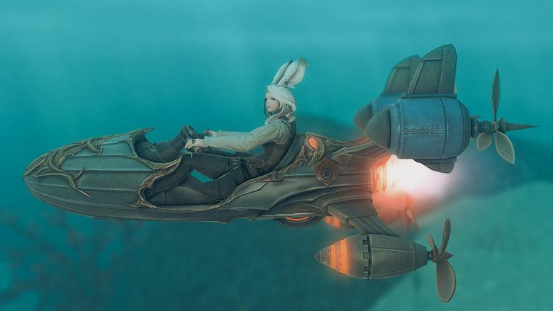 海中モード:横
