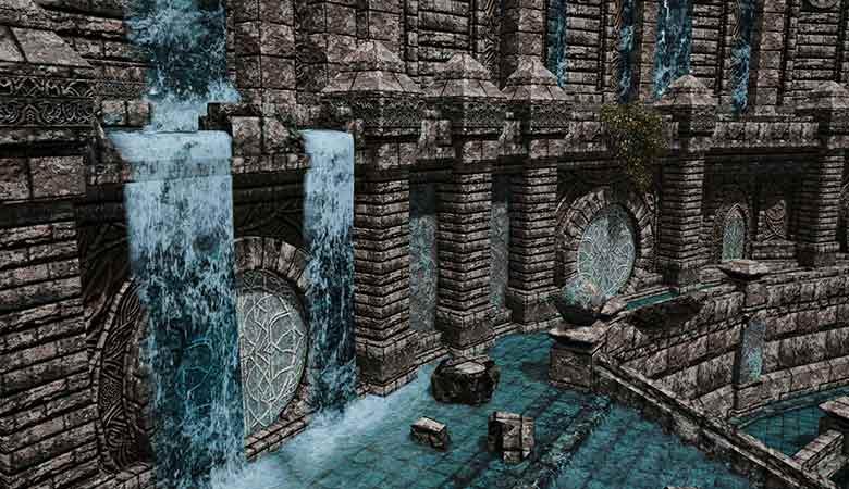 壁面からの水