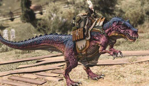 【FF14】マウント『ティラノサウルス』を見てみよう!モグコレ報酬の一つ!