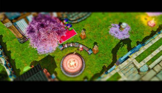 【FF14】SSをミニチュア風加工!チルトシフトで遊んでみたよ!Part.2